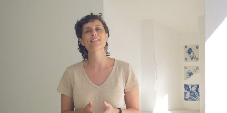 Retrato de Claudia Hortencio