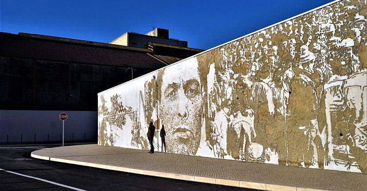 mural de arte urbana no Barreiro