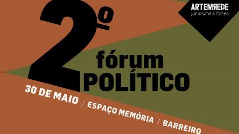 Cartaz do segundo forum politico