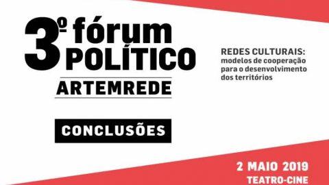 Cartaz do terceiro forum politico