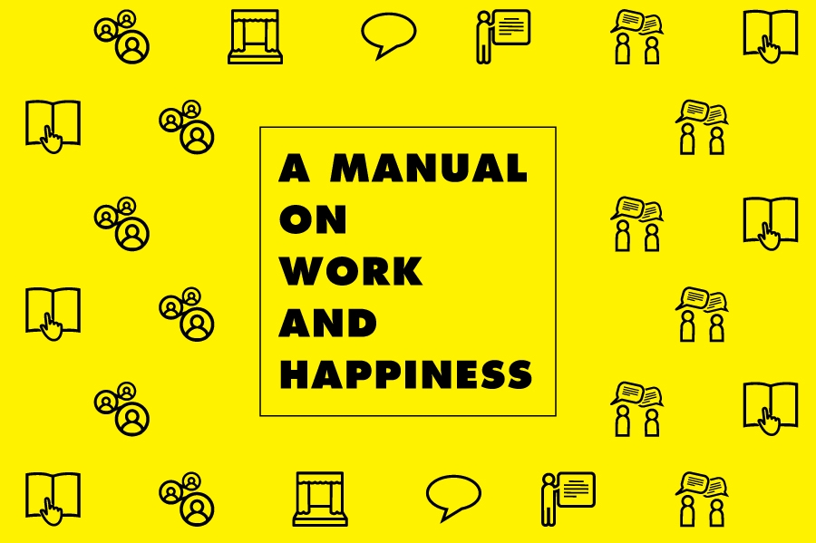 logotipo do projeto Manual on Work and Happiness